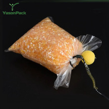 Custom pack clear sealed biodegradable water soluble packaging bag