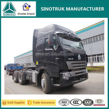 China Euro II 10 Wheel 336HP Howo A7 Tractor Truck for Sale