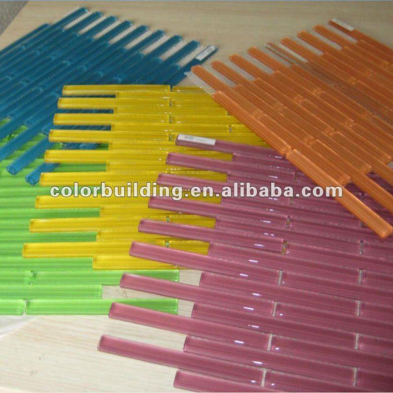 Azulejos Para Baño De Cristal:Banda baño azulejo de cristal-Mosaicos-Identificación del producto