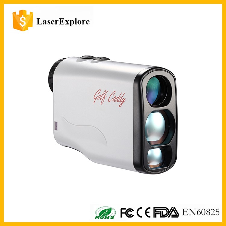 1000m Waterproof High Precision Pinseeker LCD Display Range finder Laser Rangefinder Golf with Jolt technology