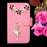 Hot sell leather mobile phones case alcatel,DIY customize your own waterproof phone case