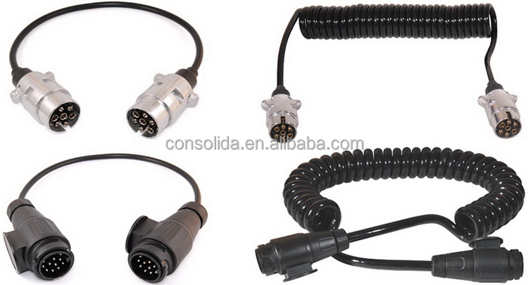 Customized most popular retractable dc power extension cable