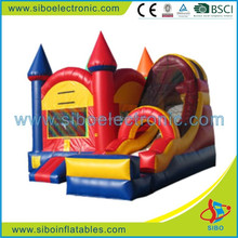 GMIF Pvc inflatable moonwalk bounce toddler activity center baby bouncer house