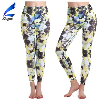 Lotsyle Woman Sport Wear Yoga Pants