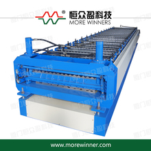 Automatic new china color metal corrugated wave roof panel roll forming machine
