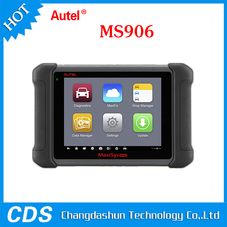 2016 New Arrival Autel MaxiSys MS906 Automotive Diagnostic System Full Package MS906 Powerful than MaxiDAS DS708 Update Online
