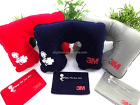 Travel pillow set with customer logo