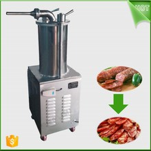 Homemade Sausage Maker Meat Stuffer With Suction Base Stainless Steel Salami Maker Manual Home Sausage Filler