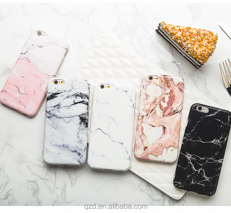Custom Made for iPhone 7 Case Marble Design Slim Shockproof Clear Bumper TPU Soft Case Rubber Silicone IMD Skin Cover