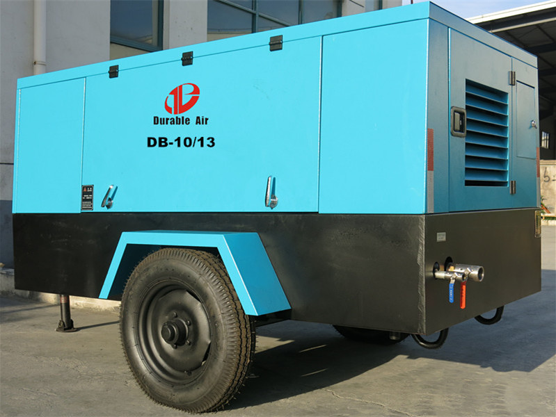 Hot Sale 6 Cylinders Engine Diesel Portable Air Compressor