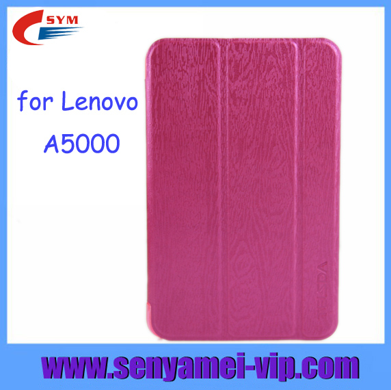 Factory Wholesale for Lenovo A5000 Tablet Case,7 inch Leather Flip Case for Lenovo A5000 Tablet Case