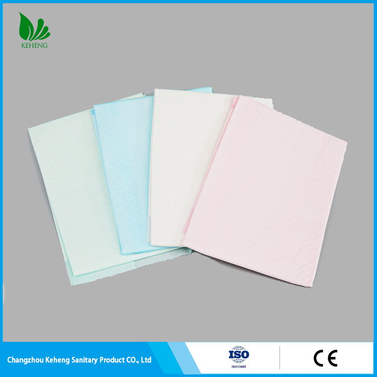 China manufacture nice looking pp non-woven medical under pad