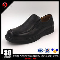 China Xinxing Military Men Rubber Outsole Comfortable Leather Shoes for Army Middle East