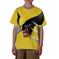 Wolverine Sublimated/Sublimation T shirt design Men woman Kids