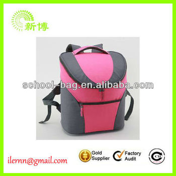 insulated backpack fishing cooler bag