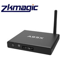 Google Android ott tv box 2G RAM 8G ROM A95X KING External Antenna TV BOX With fast WiFi