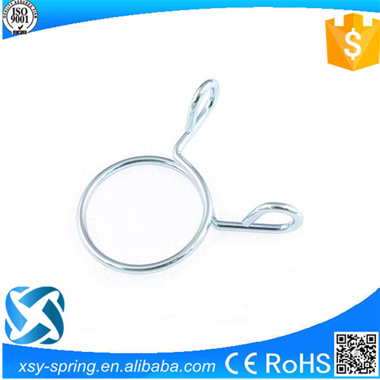 High quality zinc plating water pipe clip spring for hardware