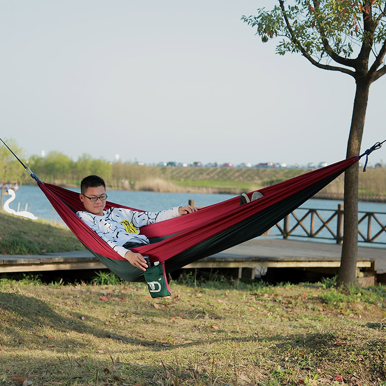 Popular New Arrival Parachute Nylon Hammock