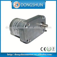 DS-65SS3530 65mm Best quality low noise Micro DC 6V large torque gear motor