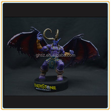 Customized online collectible card game figure Heroes of Warcraft Hearthstone statue manufacturer