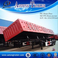 Heavy duty dump semi trailer/dumper semi trailer/tipper truck trailer for sale
