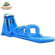 Commercial Giant Inflatable Water Slide With Pool For Adult Size