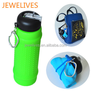 Hot new products for 2015 silicone unbreakable water bottle