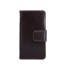 Wholesale Genuine Leather Credit Card Holder Business Men Leather Card Holder