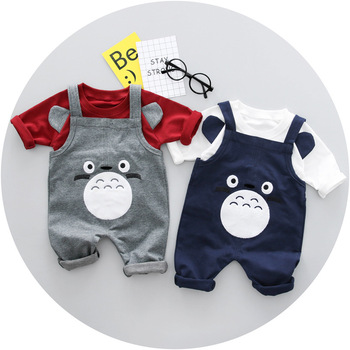 Wholesale baby clothes 100% cotton infant clothing set kids bodysuit
