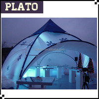 Led lighting round dome tent events tent promotion tent manufacturer