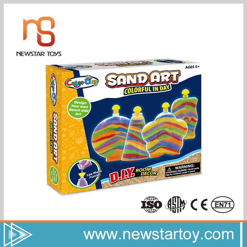 wholesale new innovative DIY toy magic play sand for children