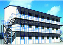 Three Floors Prefabricated Labor Accommodation Building