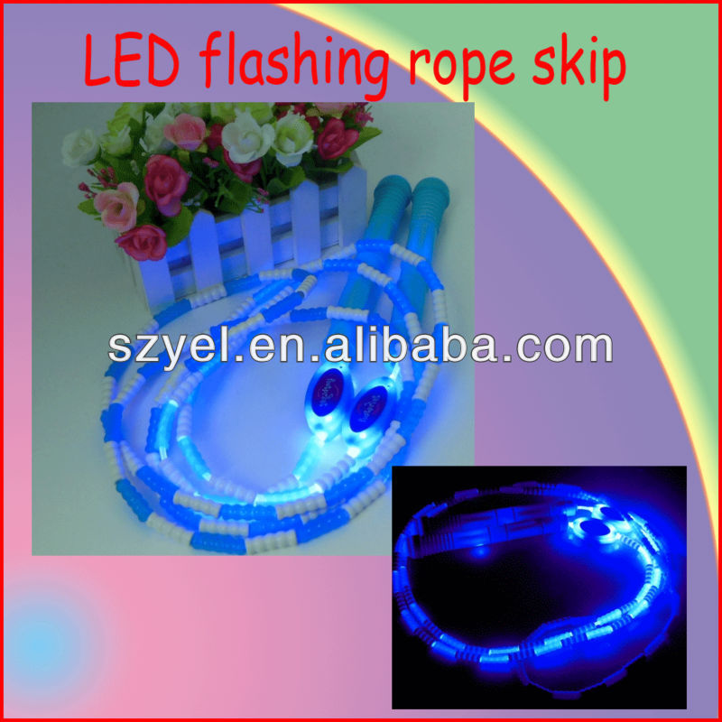OEM service cheaper price LED slim keeping rope skipping
