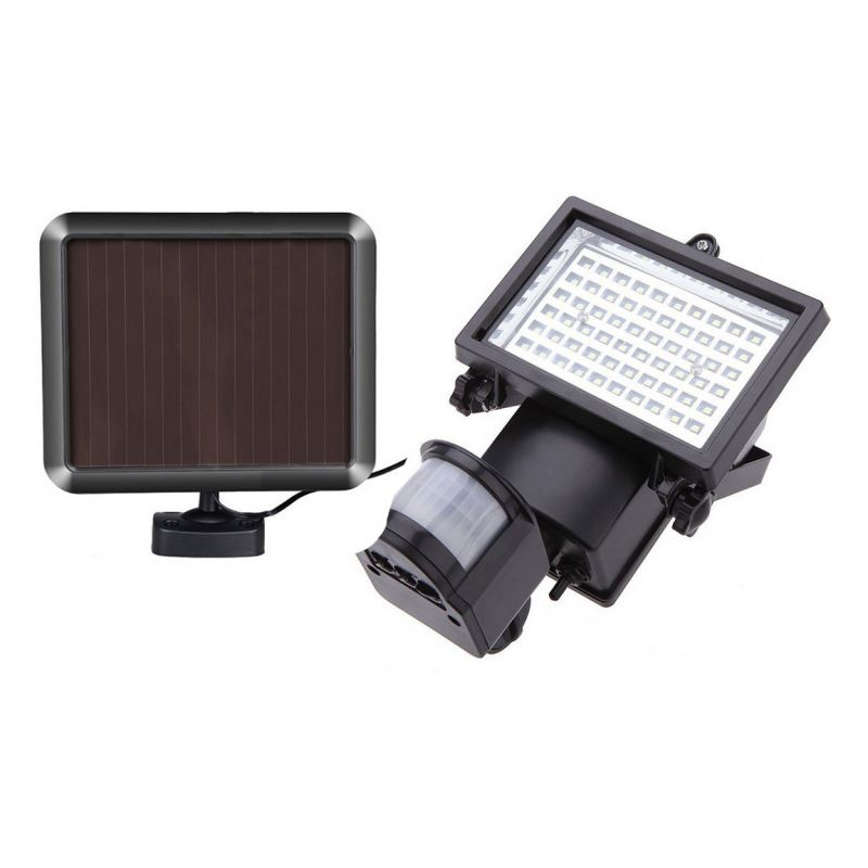 3 Intelligent Mode Super Bright 90 LED Solar Powered Wireless Security Light Weatherproof Outdoor