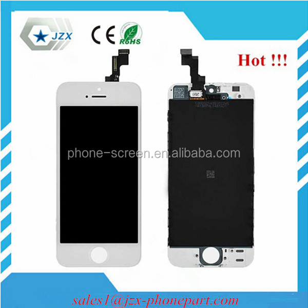 Guangzhou factory original directly offer For iphone 5s LCD digitizer Assembly with huge discount!