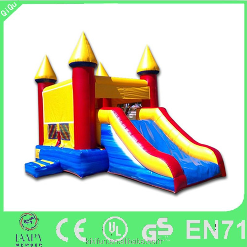 Best 0.55mm PVC material and inflatable bouncer type used commercial bounce houses combo for sale, inflalable toys for christmas