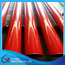 galvanized pipe factory powder coated galvanized steel pipe