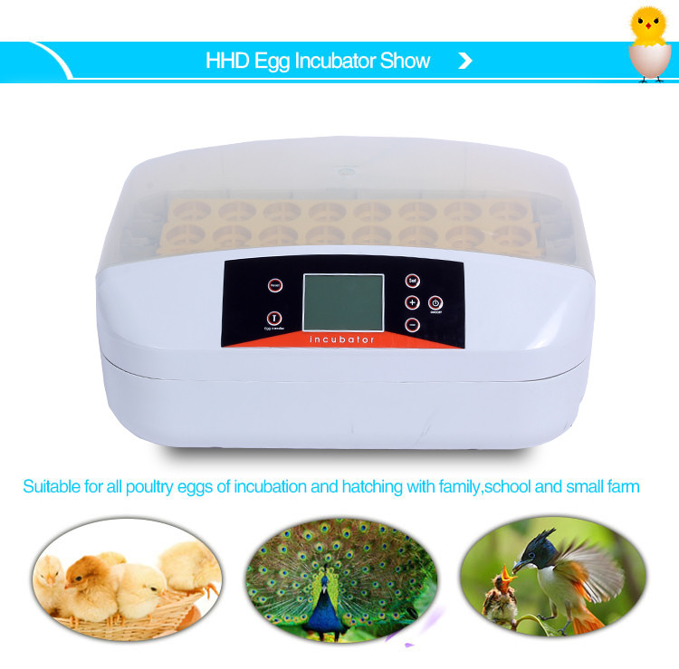 2017 Newest professional chicken incubator eggs with egg turning tray with egg turning tray YZ-32A CE approved