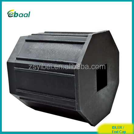 plastic end cap for roller shutter steel tube