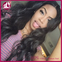 High Quality Mongolian 7A 100% Human Hair Body Wave 8-32 Inch Small Cap Size Lace Front Wig Mongolian Hair Wig Store For Woman