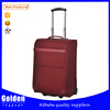 promotional china suppliers 3 pcs luggage travel set bag two built-in wheels suitcases with trolley