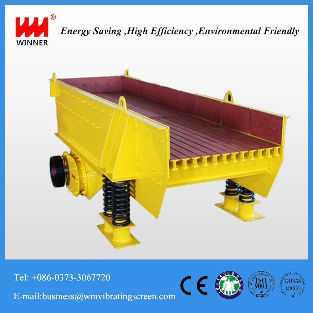 High efficient zzf series powder hopper vibrating feeder for mine