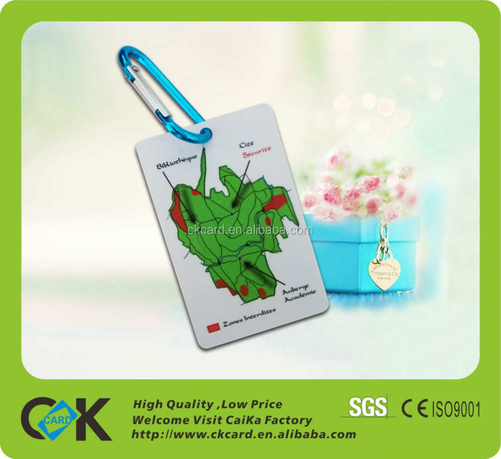 Top quality plastic luggage strap with tag from china supplier