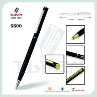 Alibaba Gold Supplier cheap metal promotional pen 6800