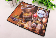 Promotional rubber mouse pad with cutomized designs