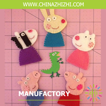 customize best seller felt finger puppets with cheap price wholesale china