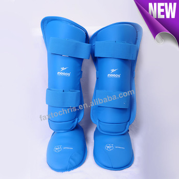WKF Approved karate shin and instep guard