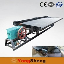 Mineral Separation Equipment/Gold Machine Shaking Table