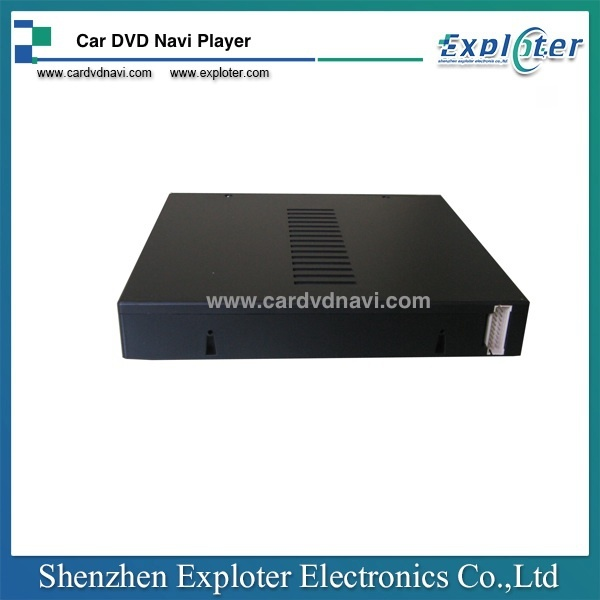 China Manufacturer Car Half DIN Single Disc DVD Player With USB SD Card