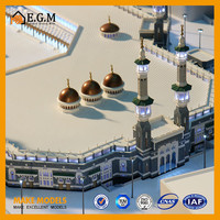 custome abs and acrylic masjid model making